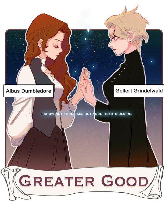 Fem Albus Dumbledore, Fem Gellert Grindelwald - Fantastic