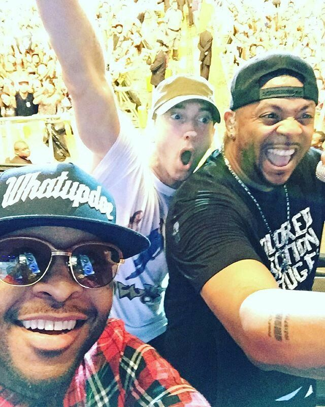Royce, Eminem & Mr Porter - Selfie@ Lollapalooza, Brazil 2016