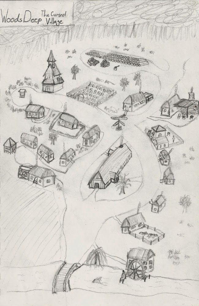 Jade Gaming News: Map of Woods Deep from the Impossible Campaign