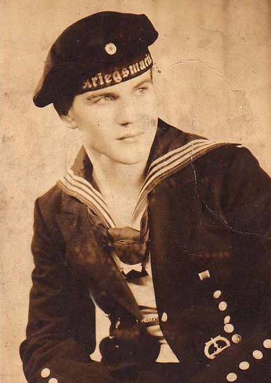 1ef639d28f8 Handsome young submariner - early World War II - Kriegsmarine - The German  sailor .