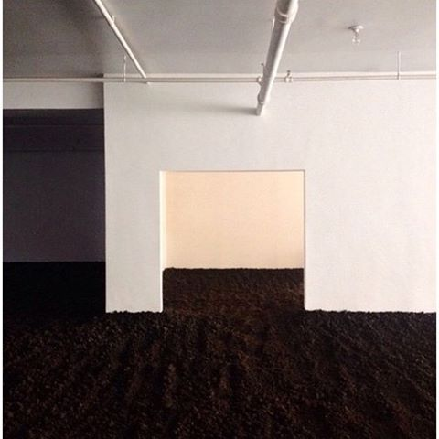 The New York Earth Room by Walter de Maria 1977