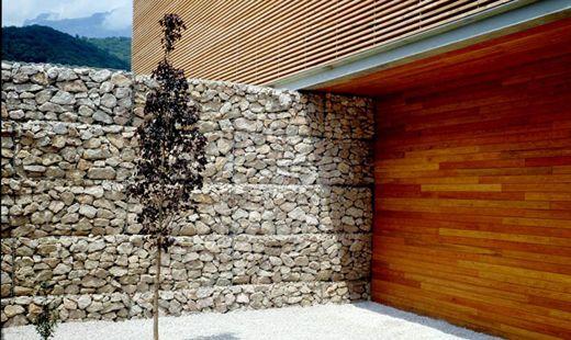 17 best images about gaviones gabion on pinterest fire - Muros de gavion ...