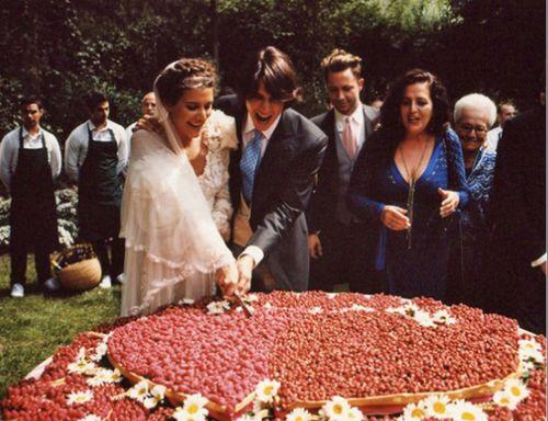 MISSONI WEDDING CAKE.