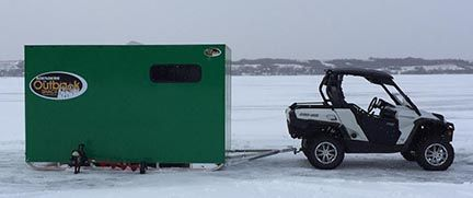 how to build a ice fishing shack plans