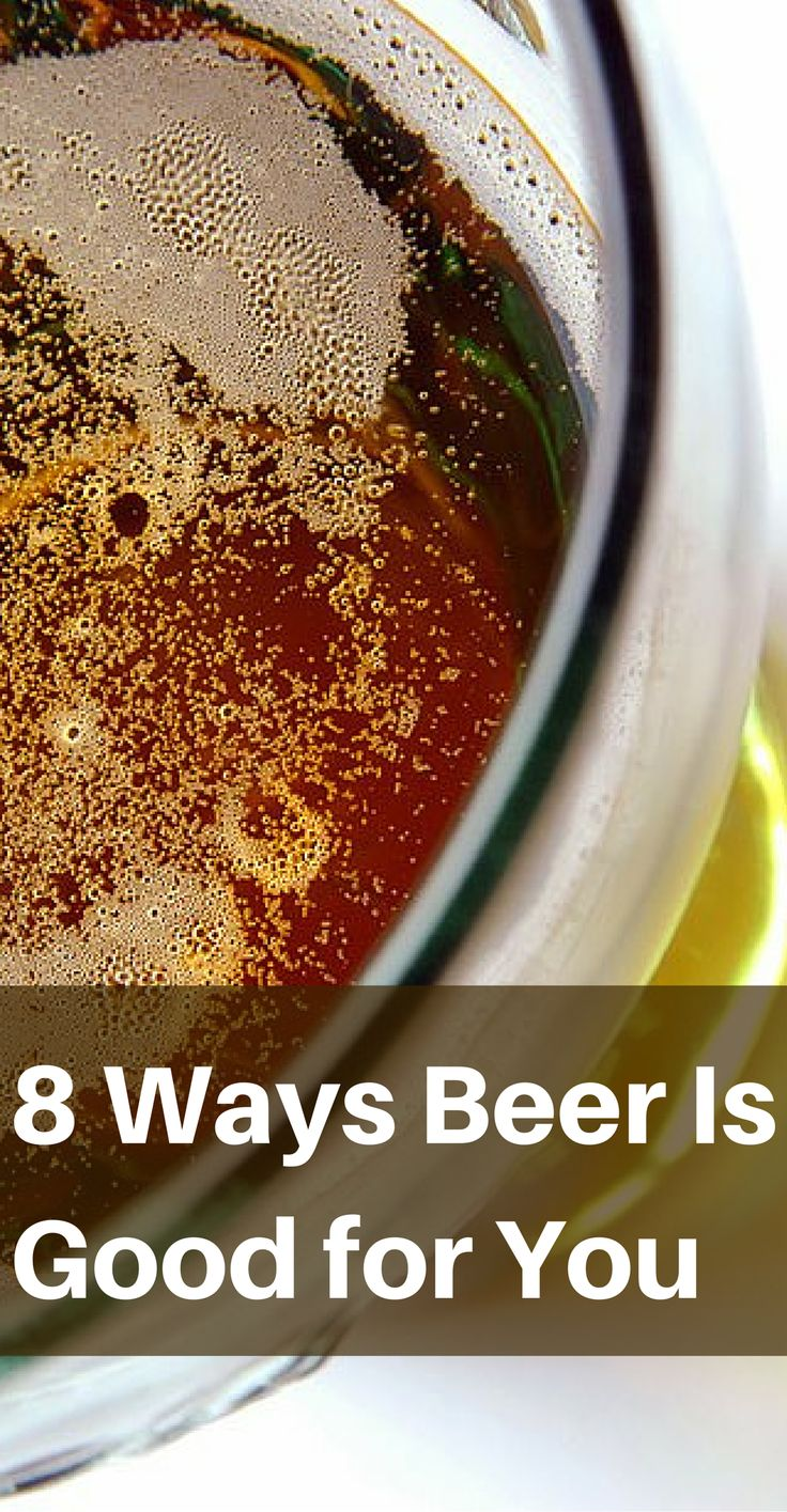 8 Ways Beer Is Good for You - Since you KNOW I'm about finding ways to justify alcohol.  Hahahaha!  <3