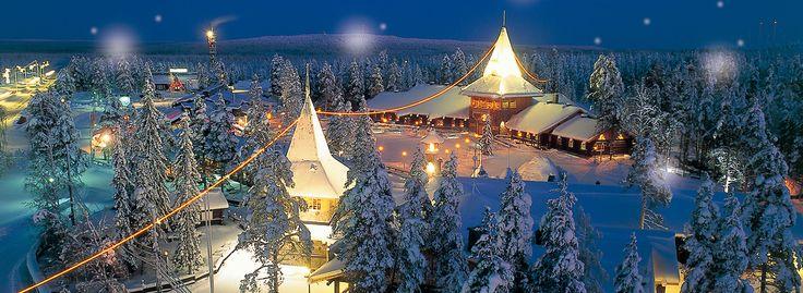 死ぬまでに行きたい!子供のころに見た夢の世界がひろがるフィンランド・サンタクロース村 | SELECTY