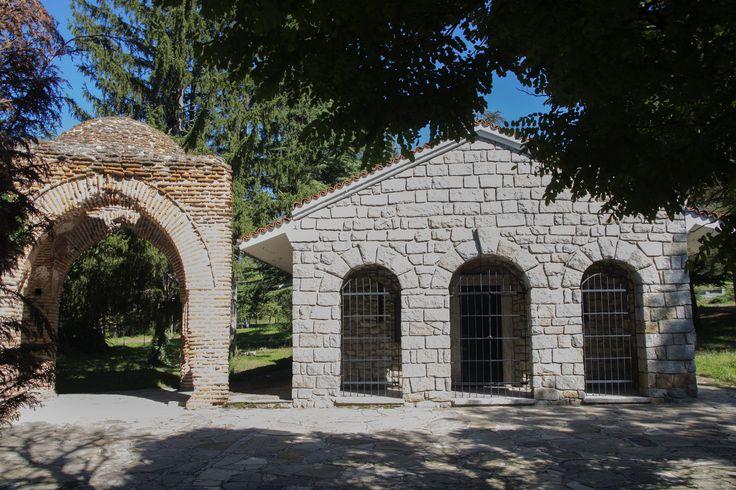 Thracische Graftpmbe in Kazanlak (Bulgarije)