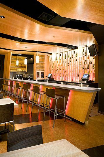 Architecture, Restaurant and Modern bar on Pinterest