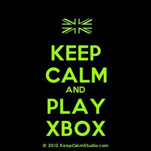 [UK Flag] Keep Calm And Play Xbox