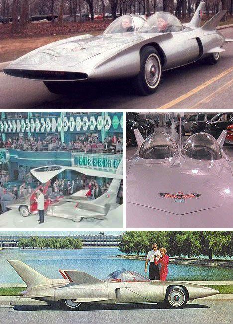 1958 GM Firebird III concept.
