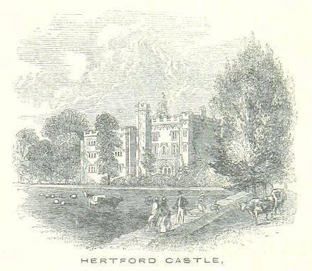 Hertford Castle - 1851