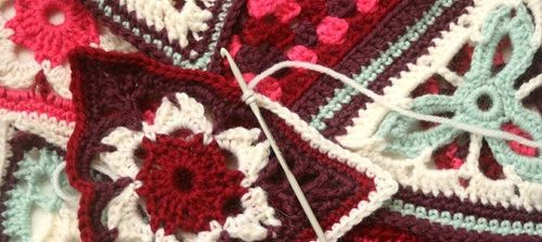 Patons Wool DK Crochet Along Afghan
