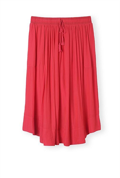 Fluid Midi Skirt