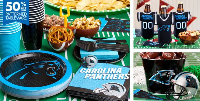 NFL Carolina Panthers Party Supplies - Party City