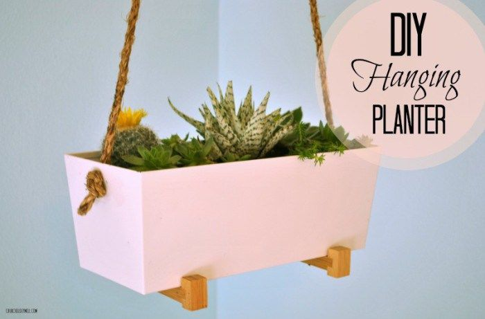 78 Best Images About FabFinds! No. 3: Hanging Planters On