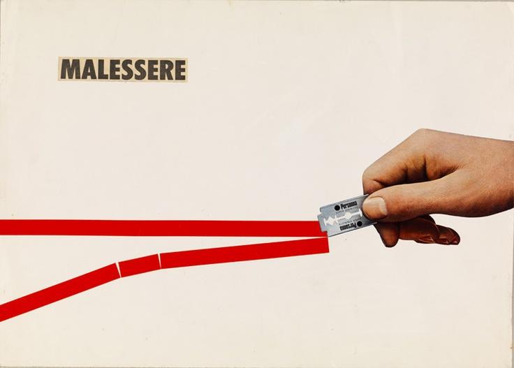 Luciano Ori - Malessere, 1970.  Mart, Archivio Tullia Denza  www.mart.tn.it/magnificaossessione