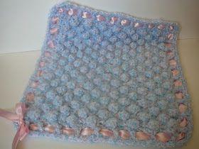 Ravelry: Bobble Flower Granny Square Blanket pattern by