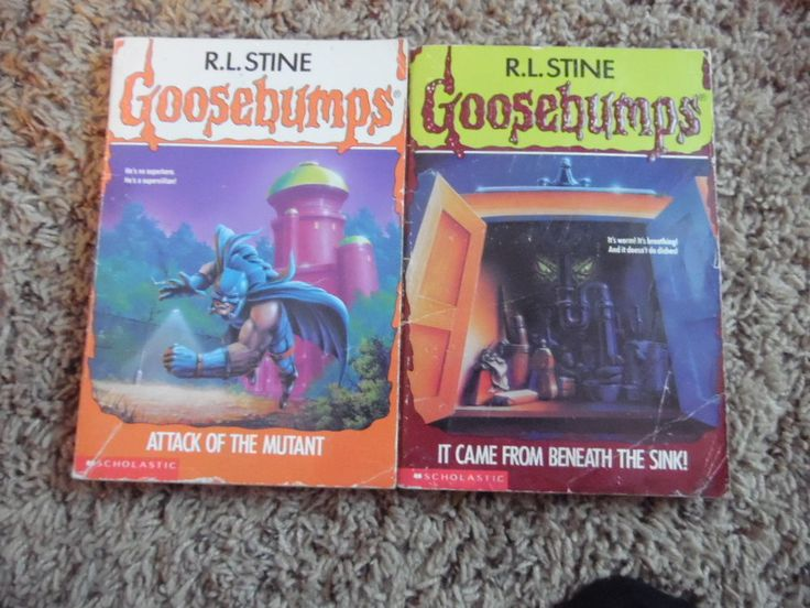 goosebumps books -two-#25,#30