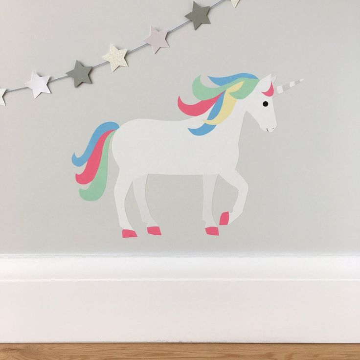 unicorn wall sticker / decal