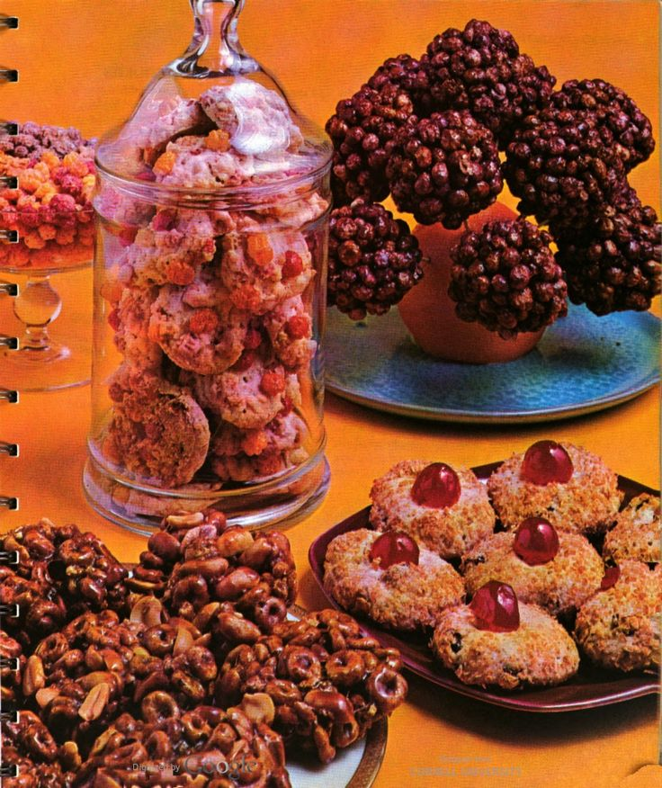 ... patties and Wheaties cherry blinks, in Betty Crocker's Cooky Book