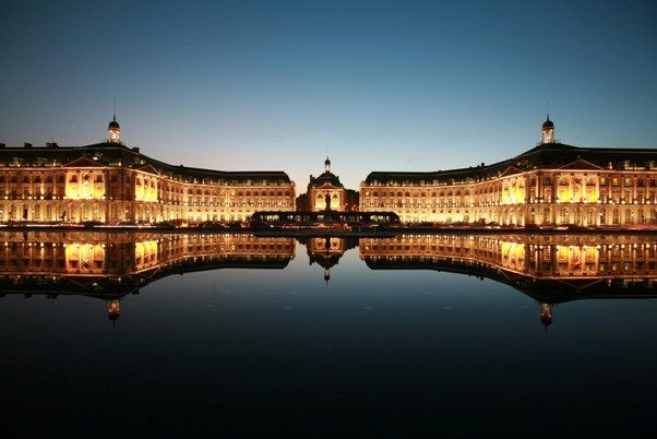 Bordeaux, France. We didn't stay very long but I will always remember the whirl wind visit :)
