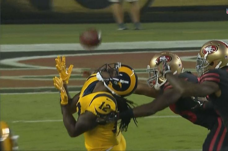 Sammy Watkins made an incredible Willie Mays-esque catch against the 49ers