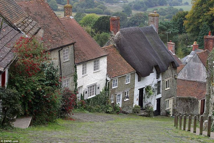 Number 6 (joint): Gold Hill, Shaftesbury. This stunning street has been ranked at number 6, due to its quaint cottages and glorious views of the Dorset countryside