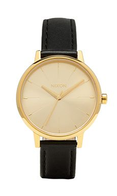 Nixon The Kensington Leather in Gold | REVOLVE