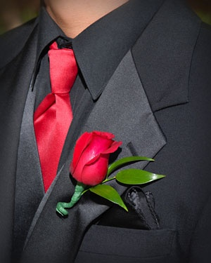 Red Rose boutonniere | Rose Boutonniere On Your Special Occasions (Rose Boutonniere) | Rose ...