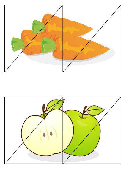 Тест разрезные картинки для младших школьников