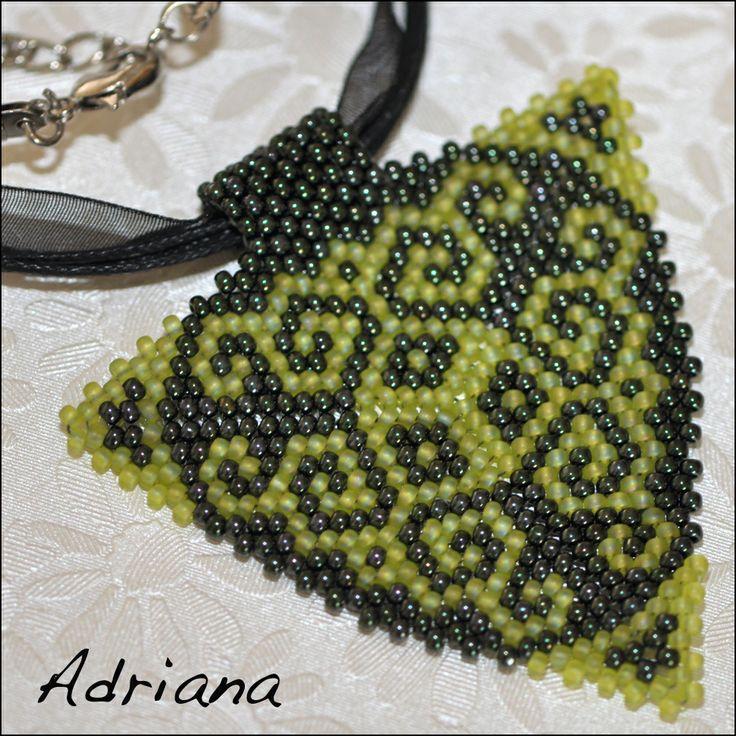 Bižutéria Adriana - moja korálková tvorba   .....náhrdelníky