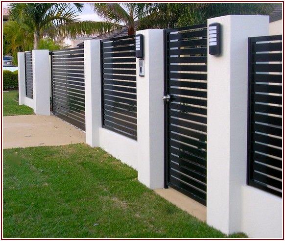 Great share Modern Fence Design Ideas