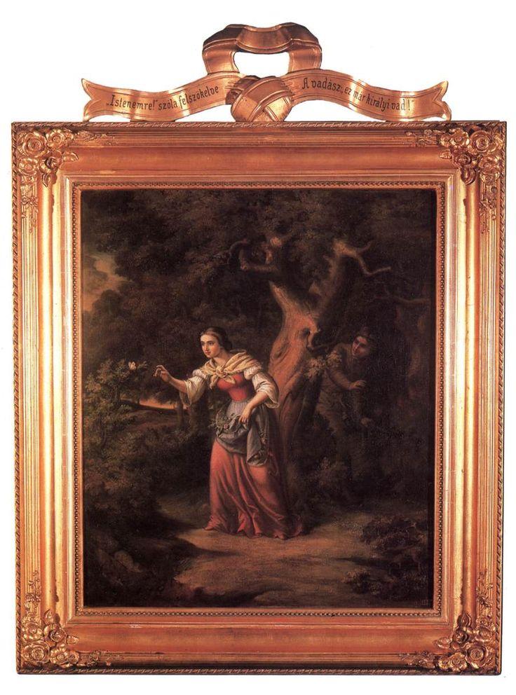 Szép Ilonka sorozat: I. A les 1866