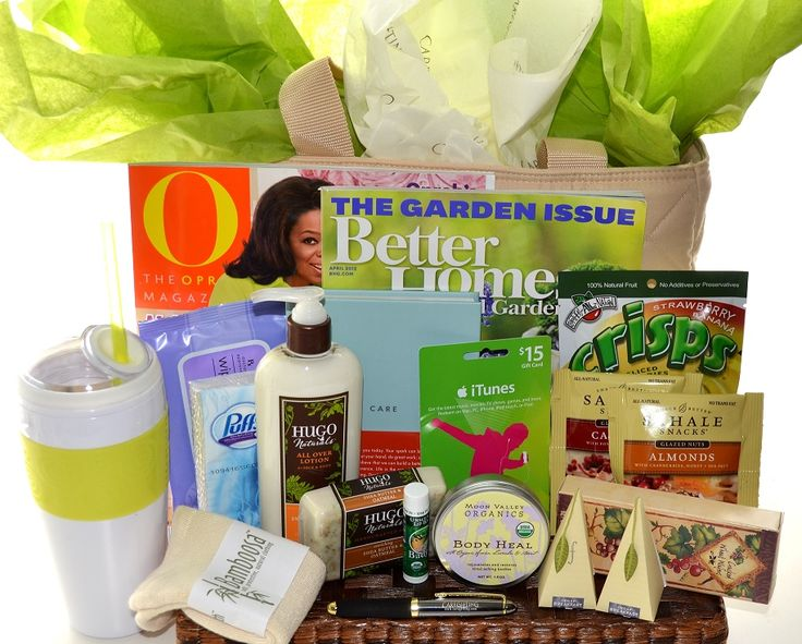 Women's Get Well Gift Basket Idea!