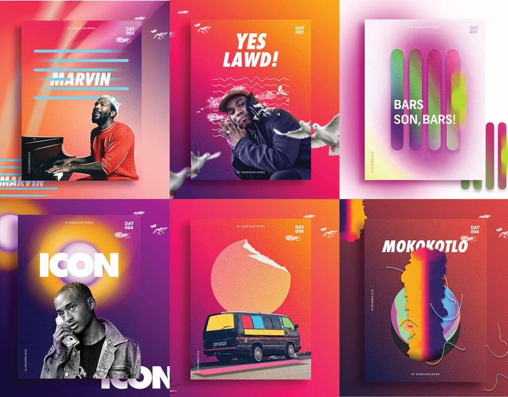 """Check out my @Behance project: """"Poster Collection 