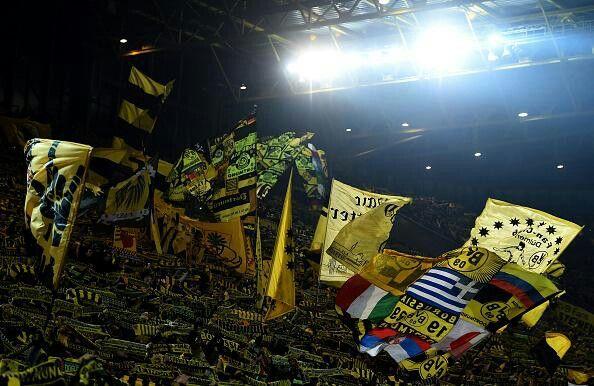 Aficion del Borussia Dortmund