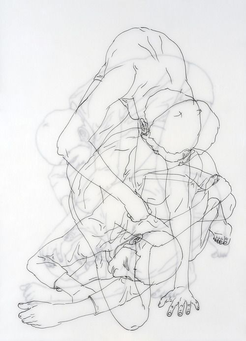 History Of Contour Line Drawing : Best images about beeldaspect ruimte on pinterest