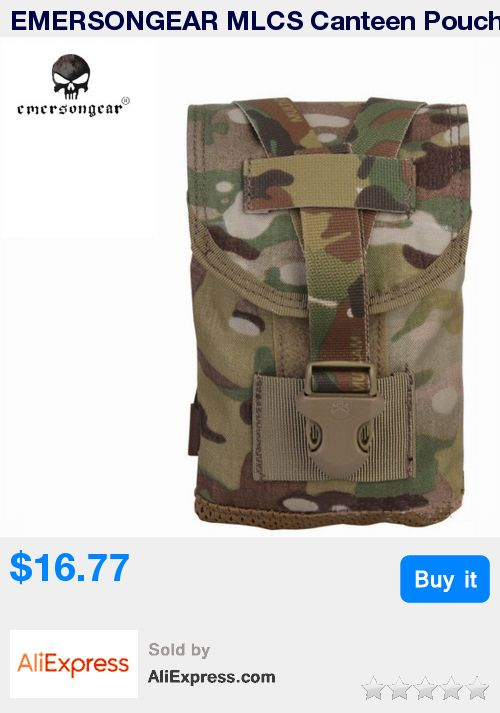 EMERSONGEAR MLCS Canteen Pouch With Protective Insert Airsoft Gear EM6039 Molle bag * Pub Date: 15:42 Jul 9 2017