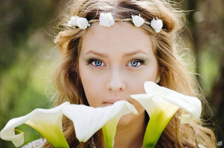 Joshua Hew Photography,  Make up done by Myself #princess #flowers #nature #makeup #photography #eyes #blueeyes