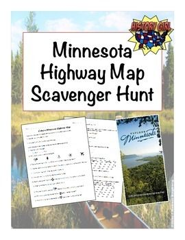 Students will use a Minnesota Highway Map to complete this activity.  Use this activity to strengthen students' map-reading skills- practice using the city index, list of counties, the map scale, legend, and inset maps.I was able to get an entire class set of 2007-2008 highway maps free by contacting the Minnesota Department of Transportation.