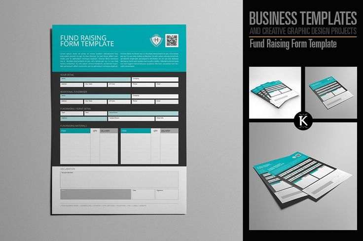 Fund #Raising #Form #Template - Templates Templates Pinterest - fundraising form template