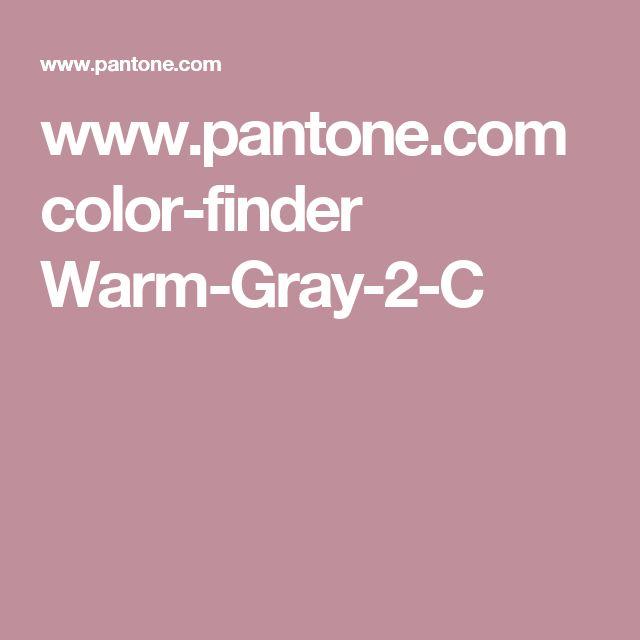 www.pantone.com color-finder Warm-Gray-2-C