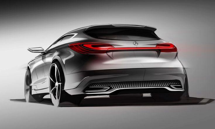 Mercedes-Benz Concept A-Class Desing Sketch (2011)