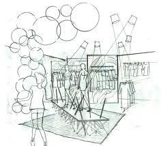 16 Best VMD Sketches Images On Pinterest | Sketches Visual Merchandising And Glass Display Cabinets