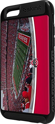 Ohio State University iPhone 6 Cargo Case - Ohio State's Ohio Stadium Cargo Case For Your iPhone 6. Built To Last - Tough iPhone 6 Cargo Case Made With A Double Layer Hard Shell & Rubber Liner Protection. Offically Licensed Ohio State Case Design. Industry Leading Vivid Color Vinyl Print Technology. Textured Sidewalls - For Added Comfort & Enhanced iPhone 6 Grip. Precision iPhone 6 Fit - Increasing Protection Without Sacrificing Function.