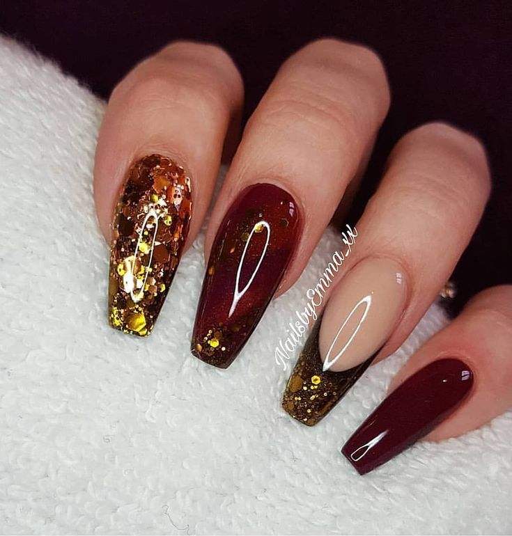 Throwback I Love Autumnal Shades Definitely Ready For Autumn Winter Now Glamandglitsnails Betty Available To Purchase From The Nail Team Nai