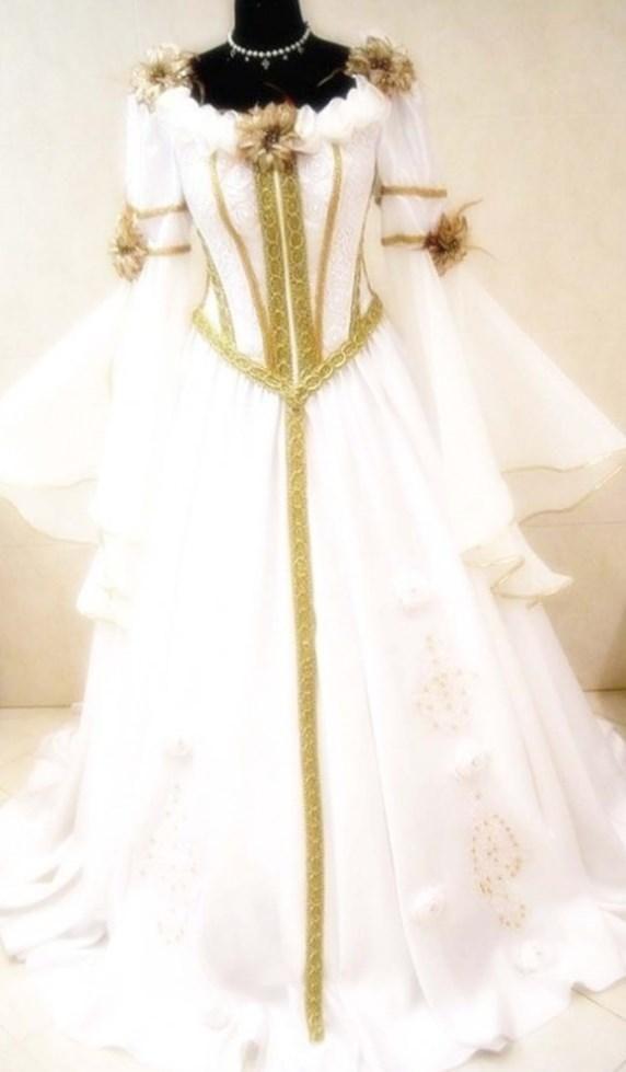 Lace Modern Wedding Dresses Medieval Wedding Dresses Wedding