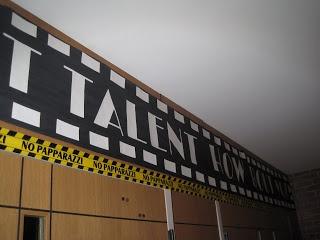 ótima idéia para decoração de show de talentos