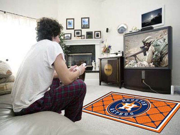 Houston Astros 4' x 6' Area Rug