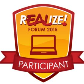 REALIZE! Online Forum 2015 Participant Badge